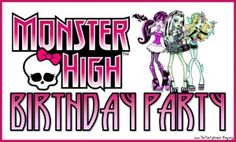 monster high ideas