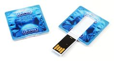 Durex Condom USB, Remember to safely remove ;)