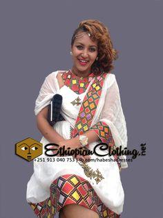 New traditional Ethiopian dress.