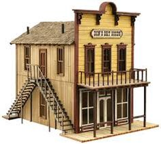 The Key To Keeping Trains In Mint Condition Protected From Dirt, Dust And Grime - Model Train Buzz Old Western Towns, Westerns, Old West Town, Escala Ho, Bird Houses Diy, Wooden Houses, The Lone Ranger, Garden Railroad, Le Far West
