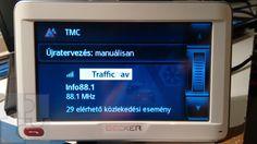 A TMC adás most az Infó rádió segítségével érkezik