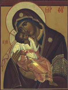 "The Mother of God ""Glykophilousa"""