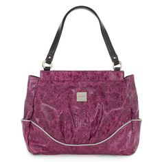 $39.95 ROBIE (S) PRIMA SHELL - SKU 7583 When she catches the light just right, the Robie Shell for Prima Bags glistens like the finest amethysts from South America. Unusual textured faux leather is carefully crafted with a single piping accent in soft dove gray along the bottom and around the end pockets. It's a look that's at once feminine and daring! See the Prima Base Bag on this board.