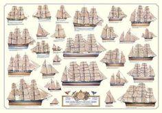 Sailing Ships Wall Art