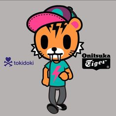 #WeAreAllTigers -#Tiger of the day- cap collector. Always has a yo-yo in his pocket. Lives in a messy apartment with roommates and have intense video game competitions all night long. He should hunt for fresh meet instead of eating frozen junk food. #toki