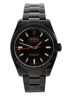 Rolex PVD Coated Stainless Steel Milguass Watch, 40mm by Rolex at Gilt