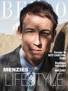 » TOBIAS MENZIES: A Thoroughly MODern Man – BELLO #69