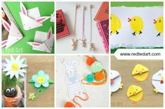 Red Ted Art's Collection of bookmarks suitable for Easter or Spring. Including Easter Corner Bookmark Designs. Easter Crafts To Make, St Patrick's Day Crafts, Bunny Crafts, Paper Crafts For Kids, Easy Crafts For Kids, Preschool Crafts, Toddler Crafts, Teen Crafts, Fish Crafts