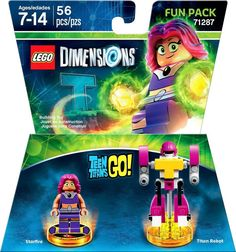 Lego Dimensions - Teen Titans Go! Fun Pack (Starfire and Titan Robot)