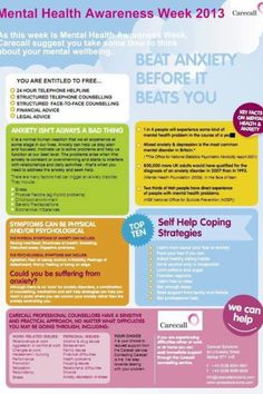Cool idea for Mental Health Week #poster #counseling #ucc ...