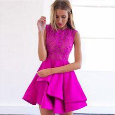 Vestidos sem mangas Casual, 3 cores Sexy Lace perspectiva Vestidos marca zíper outono mulheres festa Vestido de festa S-XL