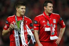 Steven Gerrard: Jamie Carragher is best Liverpool player Ive played with