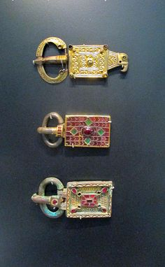 Garnet and Cloisone Buckles, 4th-7th Century, British Muse… | Flickr
