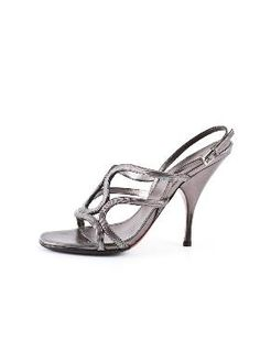 Alaïa Snake Chain Sandal