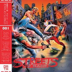 Streets of Rage CD soundtrack by Data Discs