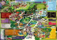 Alton Towers is a theme park in the county of Staffordshire, United Kingdom. Merlin Entertainments, Theme Park Map, Planet Coaster, Interactive Map, Us Map, Flower Show, Travel And Tourism, Games For Kids, Places To Travel