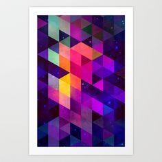 vyolyt Art Print by Spires - $20.00