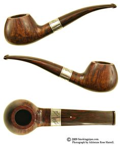 Dunhill Amber Root 1988 Christmas Pipe (72/400) (5128)