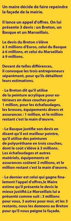 Le devis du Breton s'élève à 3 millions d'Euros, celui du Basque à ...