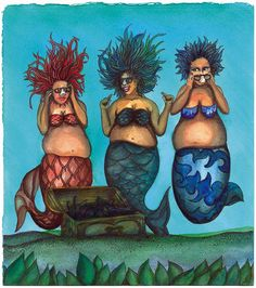 'Groucho Mermaids' - click to enlarge