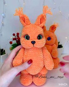 Crochet Animal Patterns, Crochet Doll Pattern, Crochet Patterns Amigurumi, Crochet Rabbit, Cute Crochet, Amigurumi Toys, Sewing Basics, Crochet For Beginners, Stuffed Toys Patterns