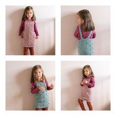 Kort seleskjørt med morsomme popcorn. Strikket i myk og elastisk merinoull. Størrelser: 1 (2-3) 4-5 (6) år Garn: Sandnes garn merionoull 150 (150) 200 (200) g Girl Inspiration, Popcorn, Baby Knitting, Boy Outfits, Toddlers, Knitwear, Knitting Patterns, Knit Crochet, Projects To Try