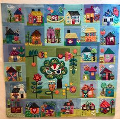 Applique Stitches, Wool Applique, Fiber Art, Patches, Kids Rugs, Embroidery, Quilts, Holiday Decor, Creative