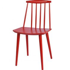 folke palsson red dining chairs - Google Search