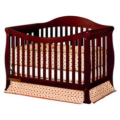 AFG Athena Allie Convertible Crib with Toddler Rail