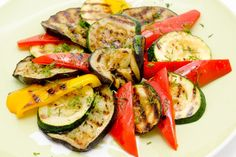 Get your grill on! We love these simple, healthy and quick grilled vegetable recipes that are great for side dishes, salads or on their own.   1. Grilled V