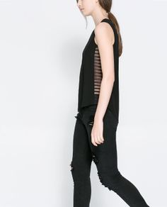 ZARA - WOMAN - SLEEVELESS TOP