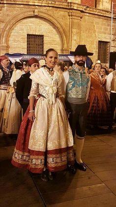 Aragon, Murcia, Traditional Dresses, Pretty Dresses, Vintage Fashion, Costumes, Fabric, Beautiful, Folklore