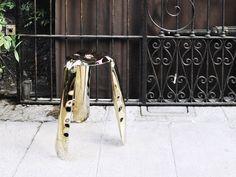 Plopp stool at Rossana Orlandi gallery. #milan2018 #milan #milano #salondelmobile #salonedelmobile2018 #isaloni #isaloni2018 #saldelmobile #milandesignweek #milandesignweek2018 #zieta #zietaprozessdesign #rossanaorlandi #fuorisalone #plopp #stool