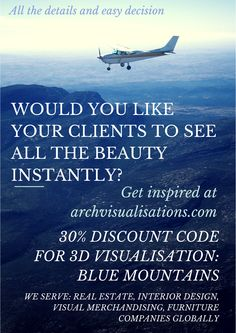 BLUE MOUNTAINS - CODE FOR 30% DISCOUNT FOR 3D VISUALIZATION! REAL ESTATE, VISUAL MERCHANDISING, INTERIOR DESIGN, FURNITURE, CONSTRUCTION COMPANIES AND FREELANCERS!