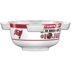 NFL Tampa Bay Buccaneers Party Bowl Set, Multicolor