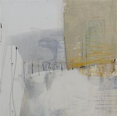 threshold - white heat ~ mixed media ~ by kate hunt