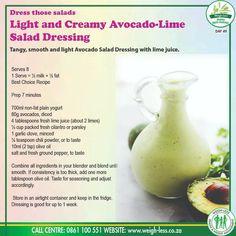 Keto Recipes, Cooking Recipes, Healthy Recipes, Wartime Recipes, Home Canning, Plain Yogurt, Salad Dressing Recipes, Avocado Salad, Fresh Lime Juice