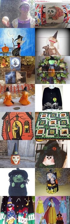 Witchy Woman Teamvintageusa by Dennis and Kay on Etsy--Pinned with TreasuryPin.com