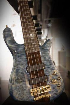 Framus & Warwick  This Streamer Stage I 5 strings Bleached Ocean Blue StHP