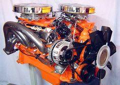 Chrysler's 426 Max Wedge V8 Engine