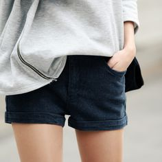 perfect jean shorts