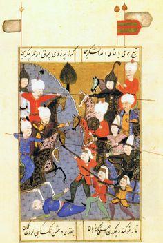 Şūkrī-i Bitlisī Selīm-nāma - Selim I fighting his brother Ahmed