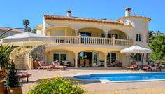 Villa Xenofilia : vakantievilla huren Moraira, Costa Blanca Spanje
