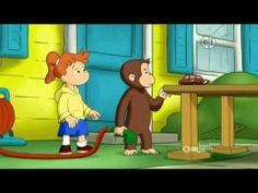 Curious George - George and Allie's Automated Car Wash 65B. My grandson Pranav will love this video.