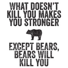 @Brianna  stay away from the bears... Or the other way around- bears should stay away from you. hahaha