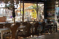 Seafood restaurant in Bangsaen Thailand