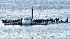 Miracle on the Hudson.  Sully Sullenberger landed this US Airways Plane on the Hudson River, on a freezing cold day.  Everyone on that plane made it out alive.  Truly amazing