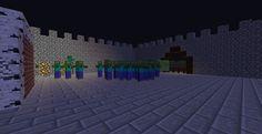 Minecraft Zombie Train