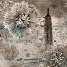 New York Celebration Graphic Art on Wrapped Canvas