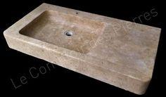 Evier en pierre calcaire de bourgogne cocinas cuisines for Evier en pierre de bourgogne